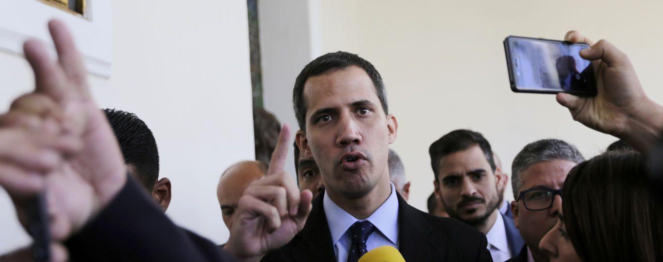 Британия и еще четыре страны ЕС признали оппозиционера Гуайдо президентом Венесуэлы
