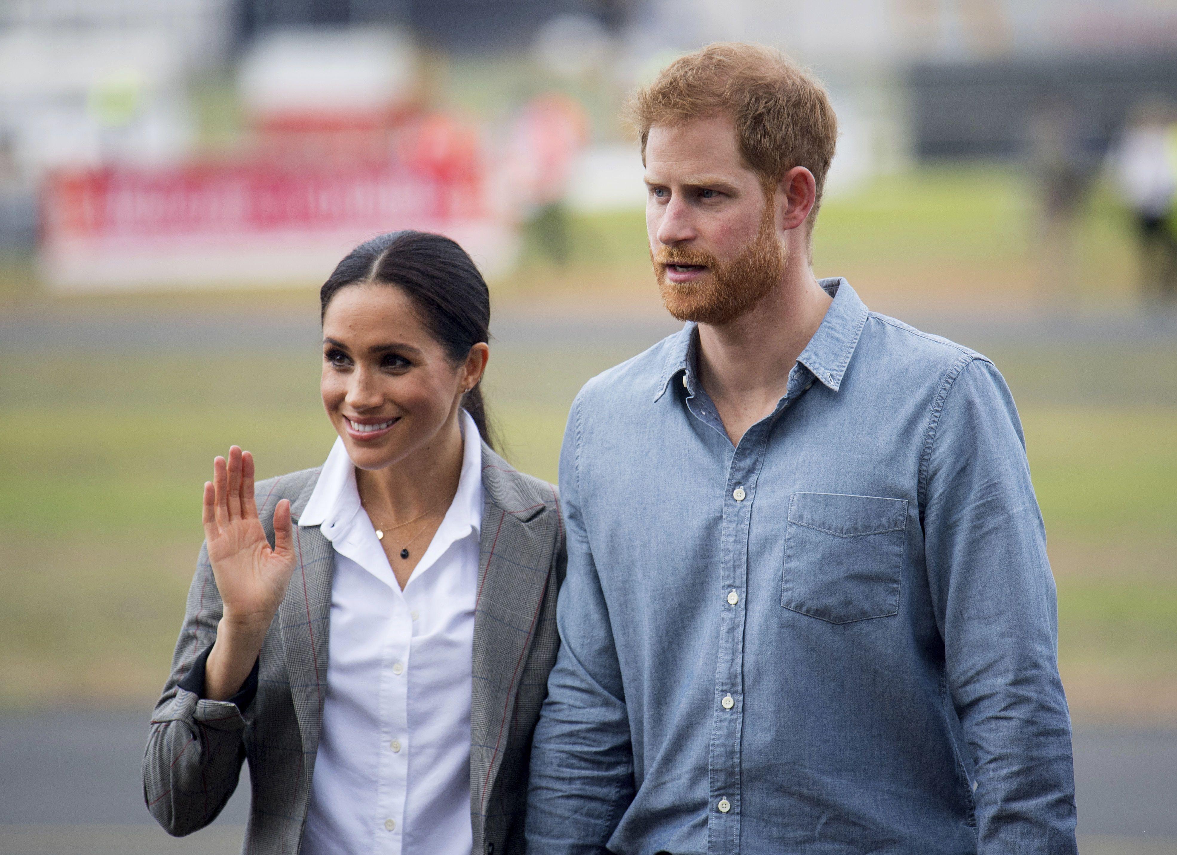 Принц Гаррі та Меган в Австралії