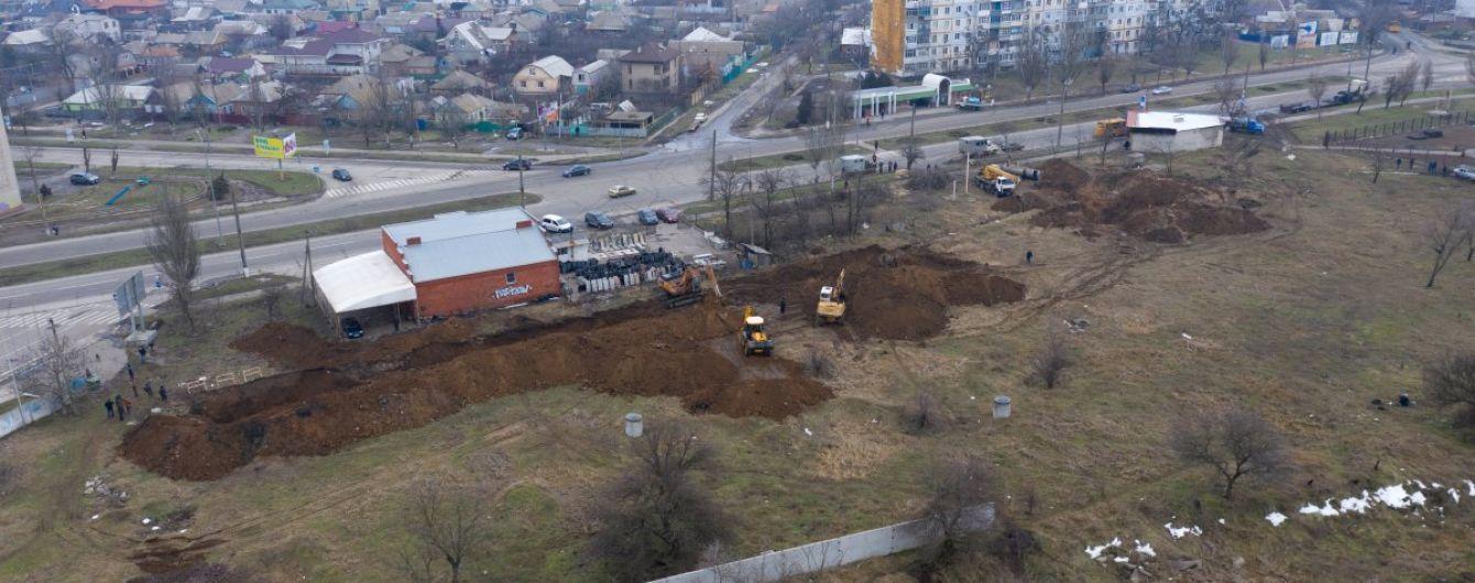 Бердянск без воды. Полиция возбудила уголовное производство из-за масштабной аварии на коллекторе