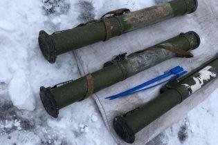 На Луганщине разоблачили жителя, который торговал гранатометами и боеприпасами