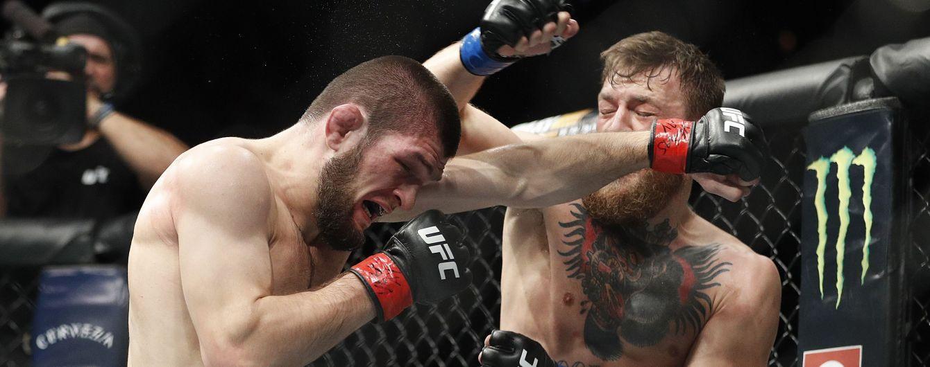 Макгрегор і Хабіб отримали тривалі дискваліфікації в UFC