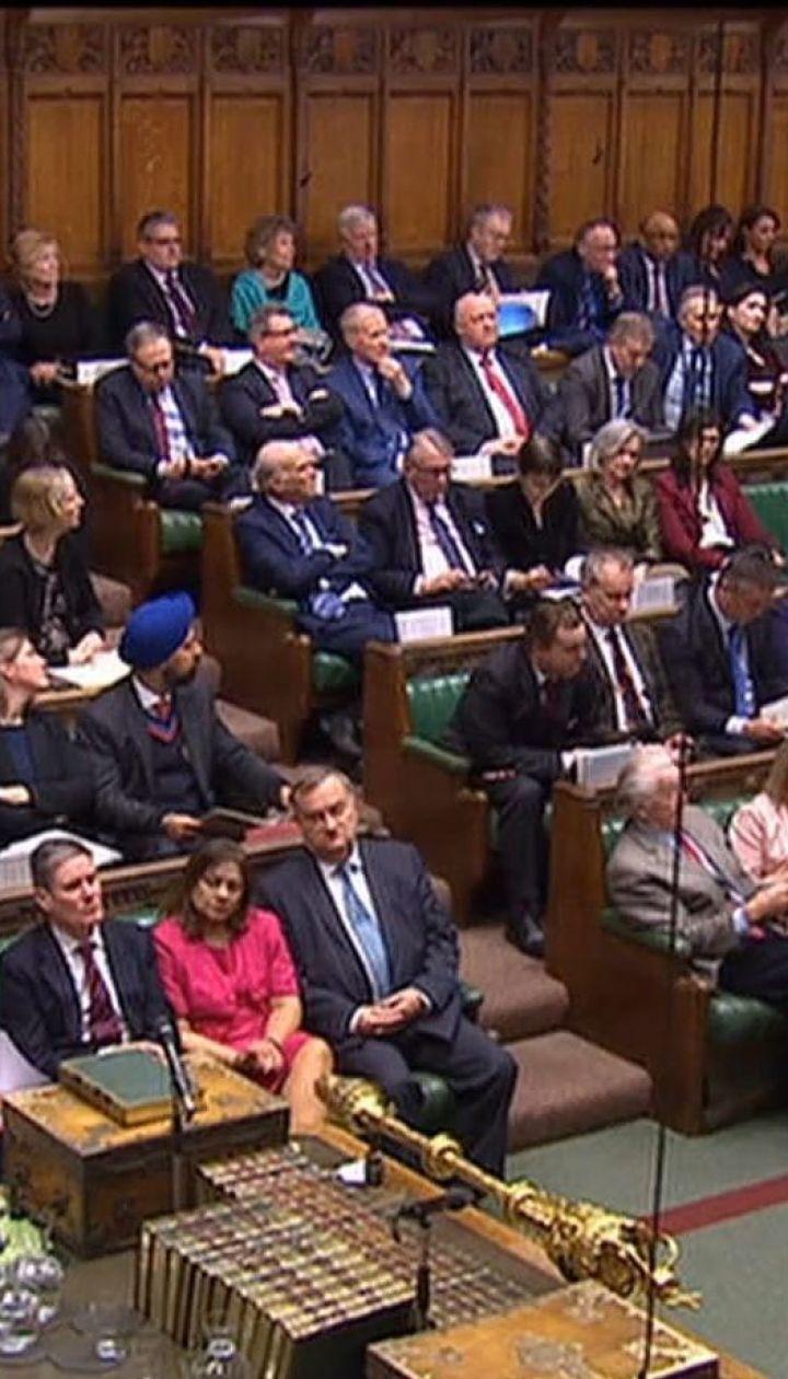 Парламент Великобритании решил оставить дату выхода страны из ЕС