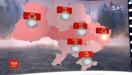 В последний день января в Украине сохранится переменная погода