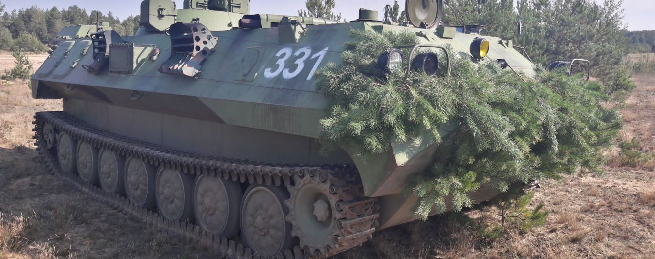 Бойцы ООС уничтожили плавучий бронетранспортер террористов