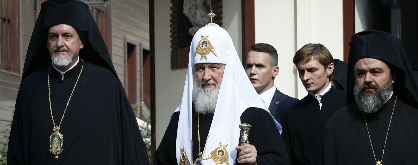 """Российский патриарх Кирилл планирует посетить Украину после """"смены власти"""""""