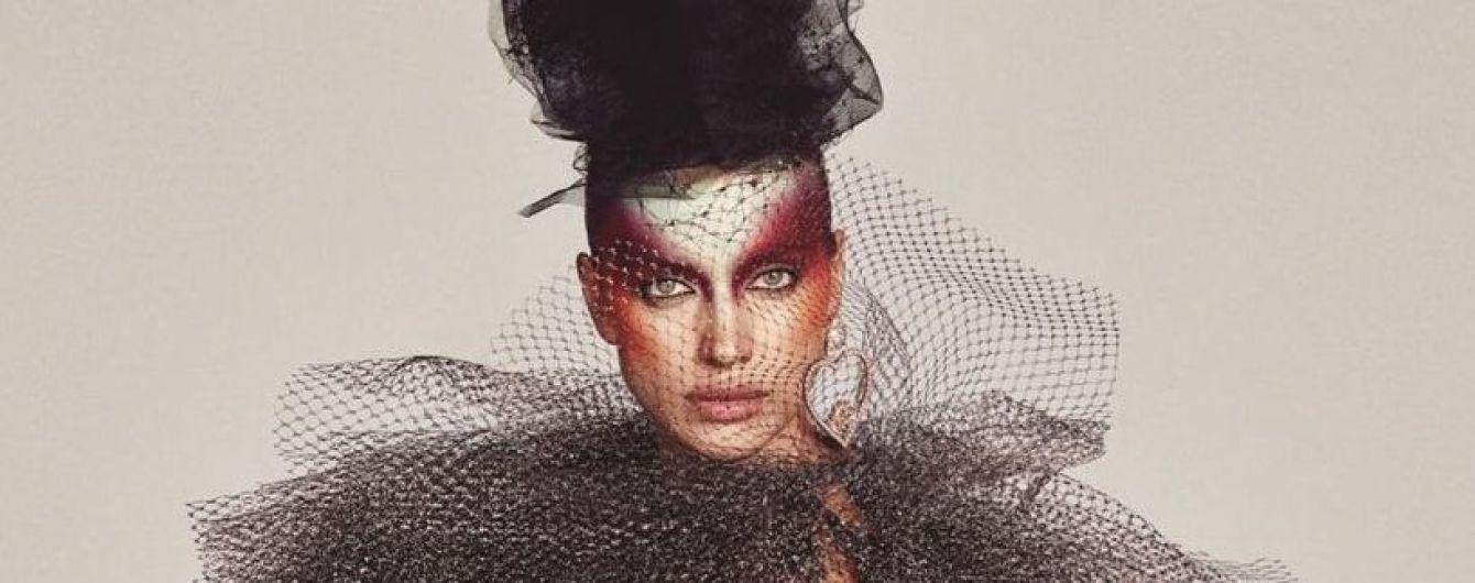 С ярким макияжем и в необычных образах: новый фотосет с Ириной Шейк