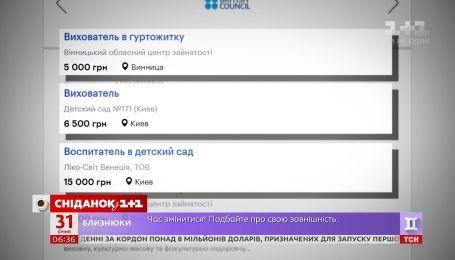 Скільки заробляють українці на різних посадах