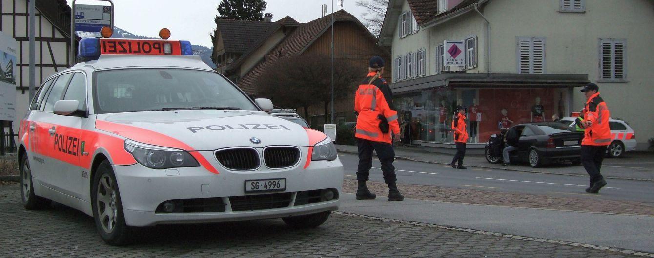 Полицейский преследовал грабителей и получил штраф в Швейцарии