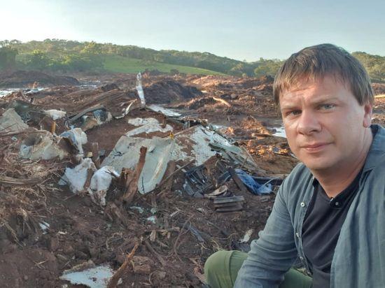 Бачив, як виглядає пекло: Дмитро Комаров поділився фото з місця катастрофи у Бразилії