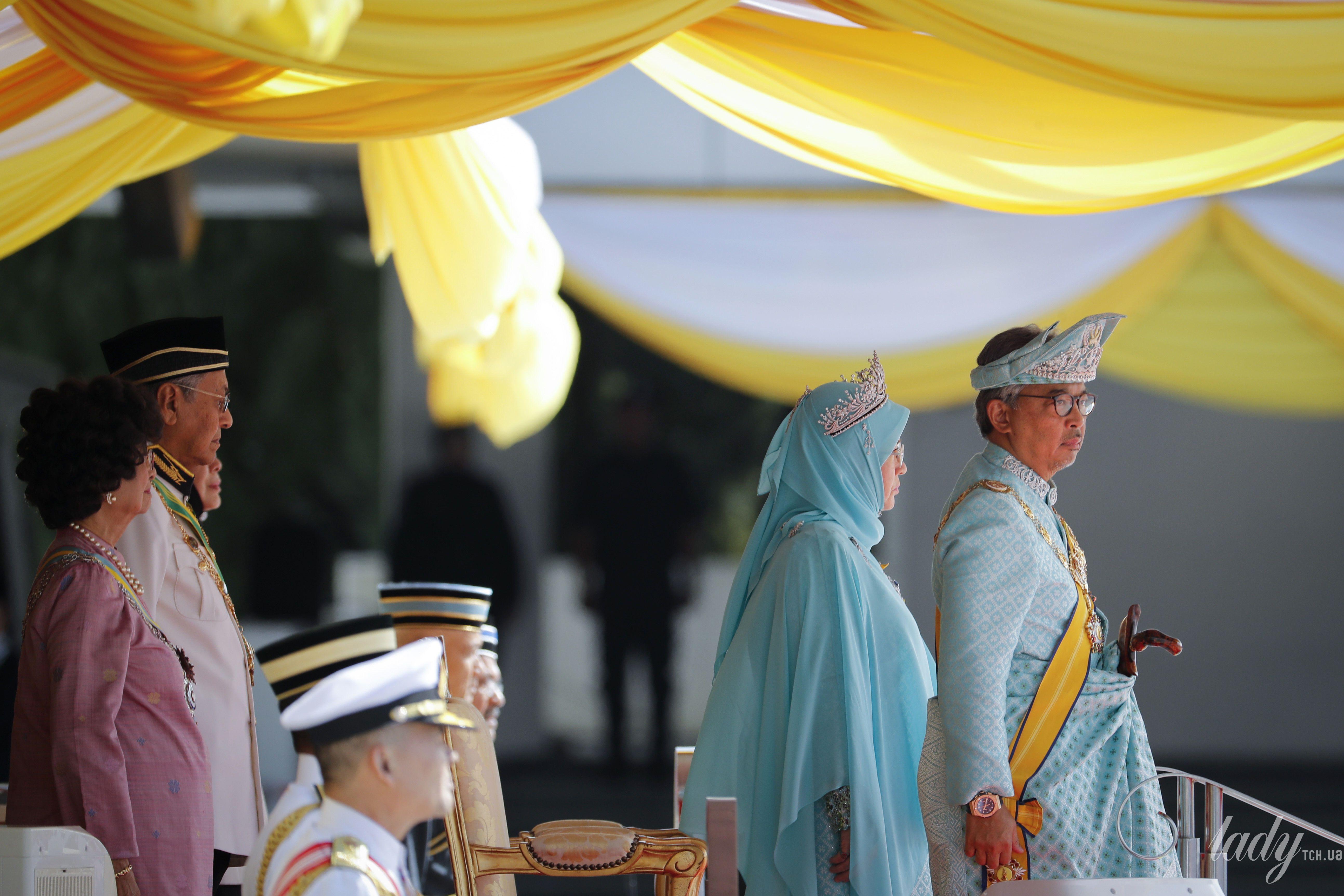Король Малайзии с женой_1