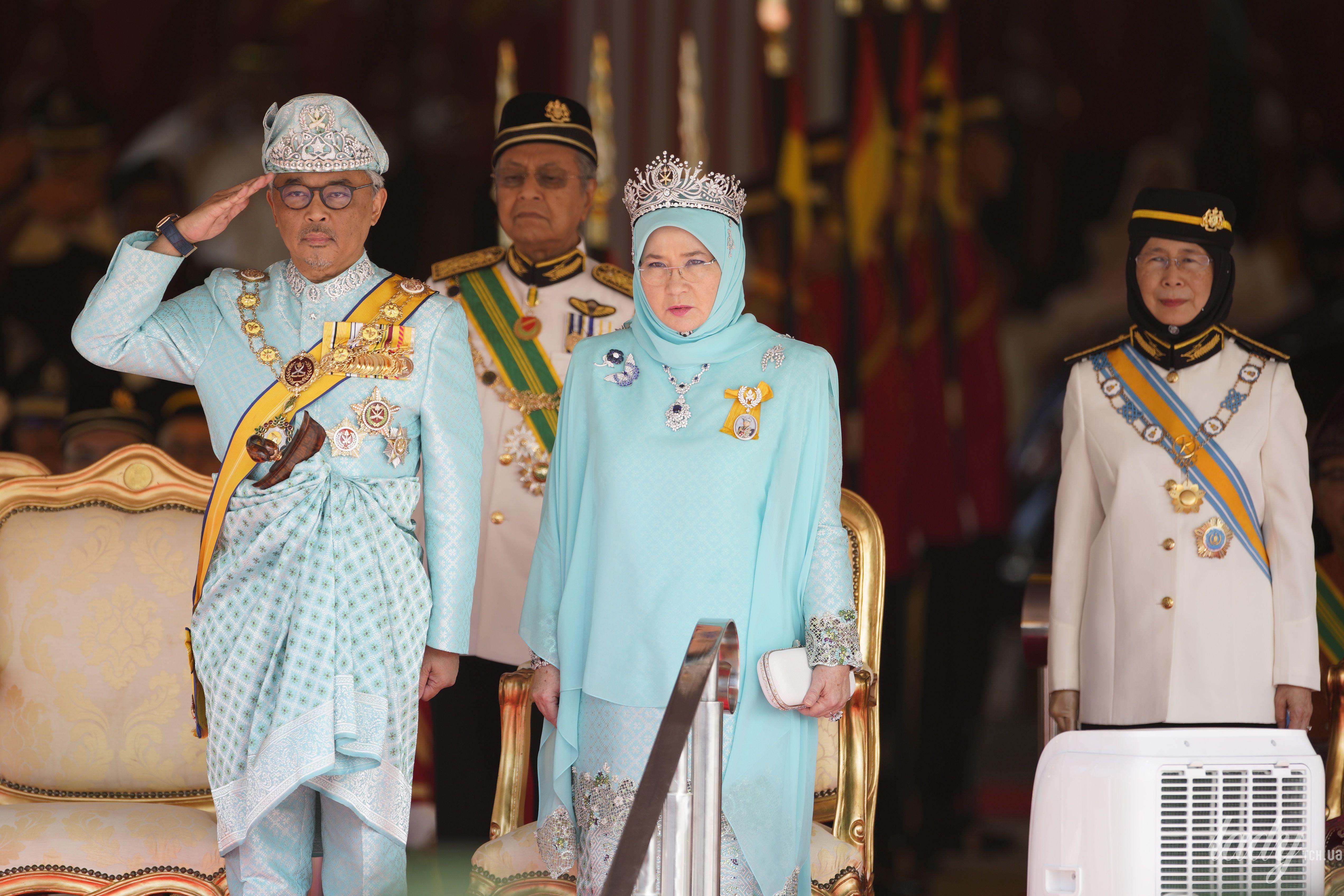 Король Малайзии с женой_2
