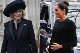 Битва черных образов: герцогиня Корнуольская vs герцогиня Сассекская