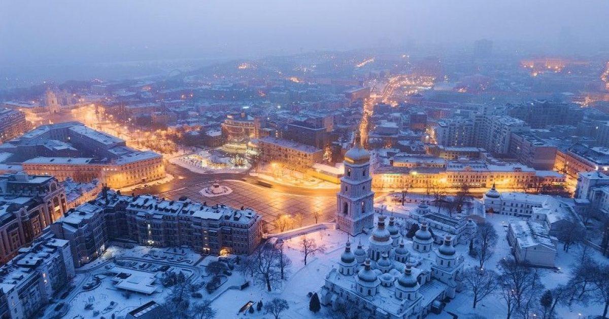 Киев вошел в топ-6  многоснежных городов Европы