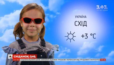 Погода в Україні та світі від Фросі
