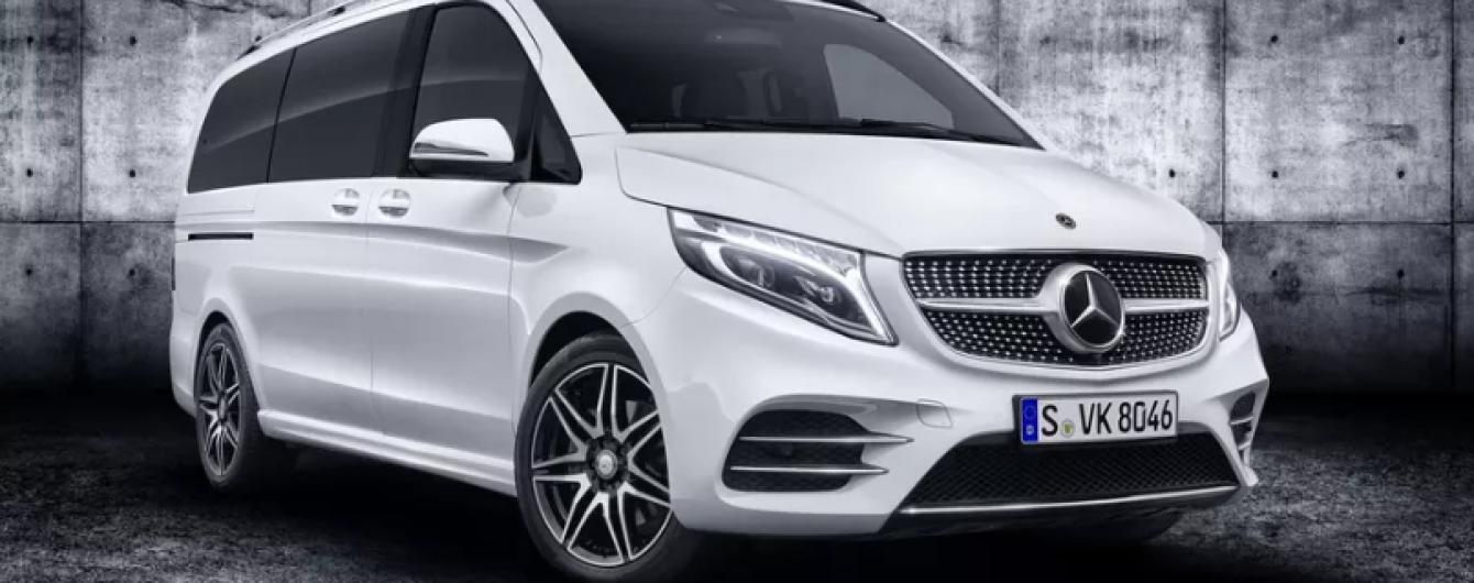 Mercedes представит электрический фургон Concept EQV