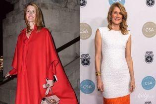 Красный или белый: битва женственных образов Лоры Дерн