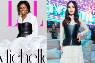 Битва эффектных образов: Мишель Обама vs Алена Лавренюк