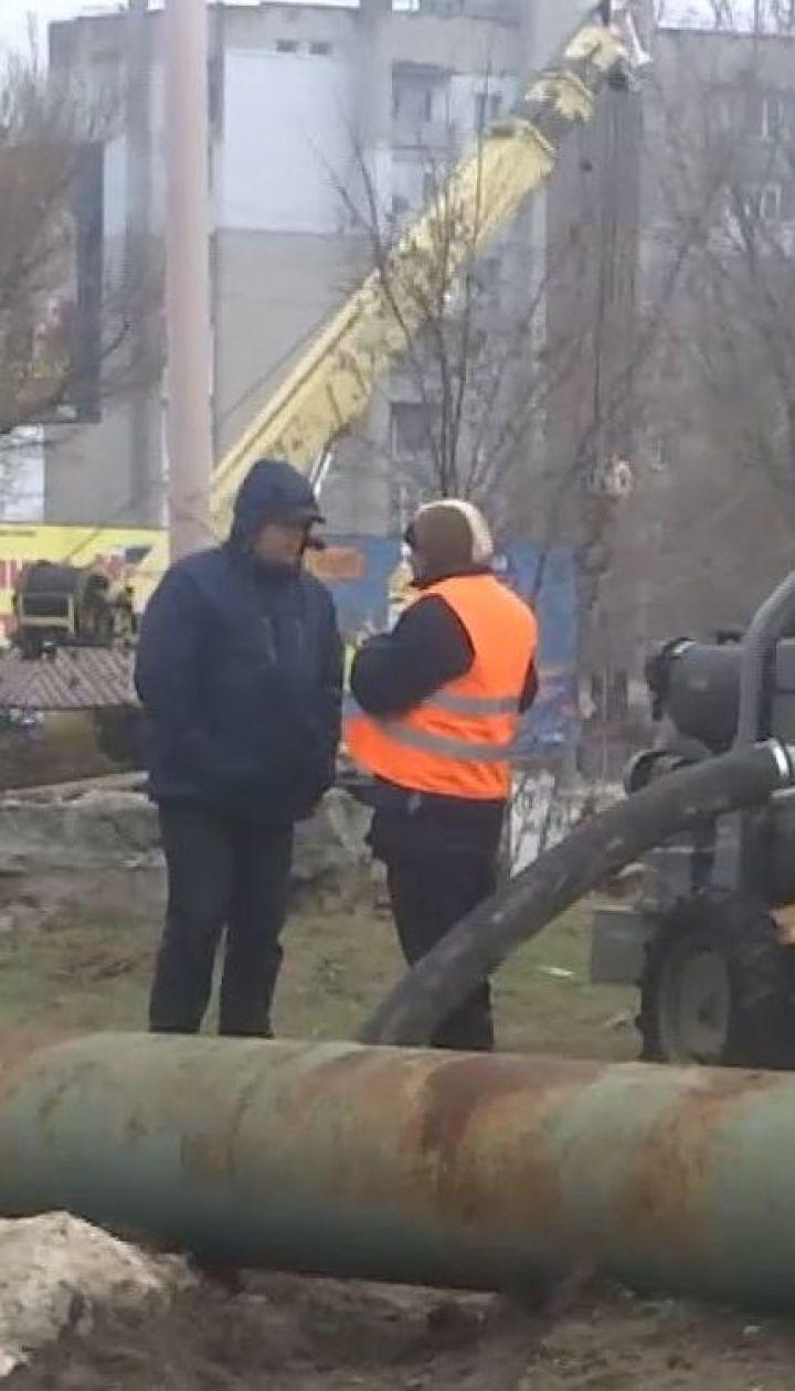 Обезвоженный Бердянск: полиция возбудила уголовное производство из-за аварии на коллекторе