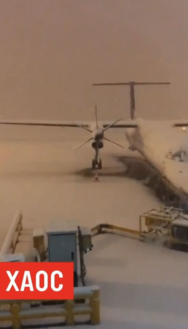Снежный хаос в Великобритании: отменены десятки авиарейсов и закрыты сотни школ