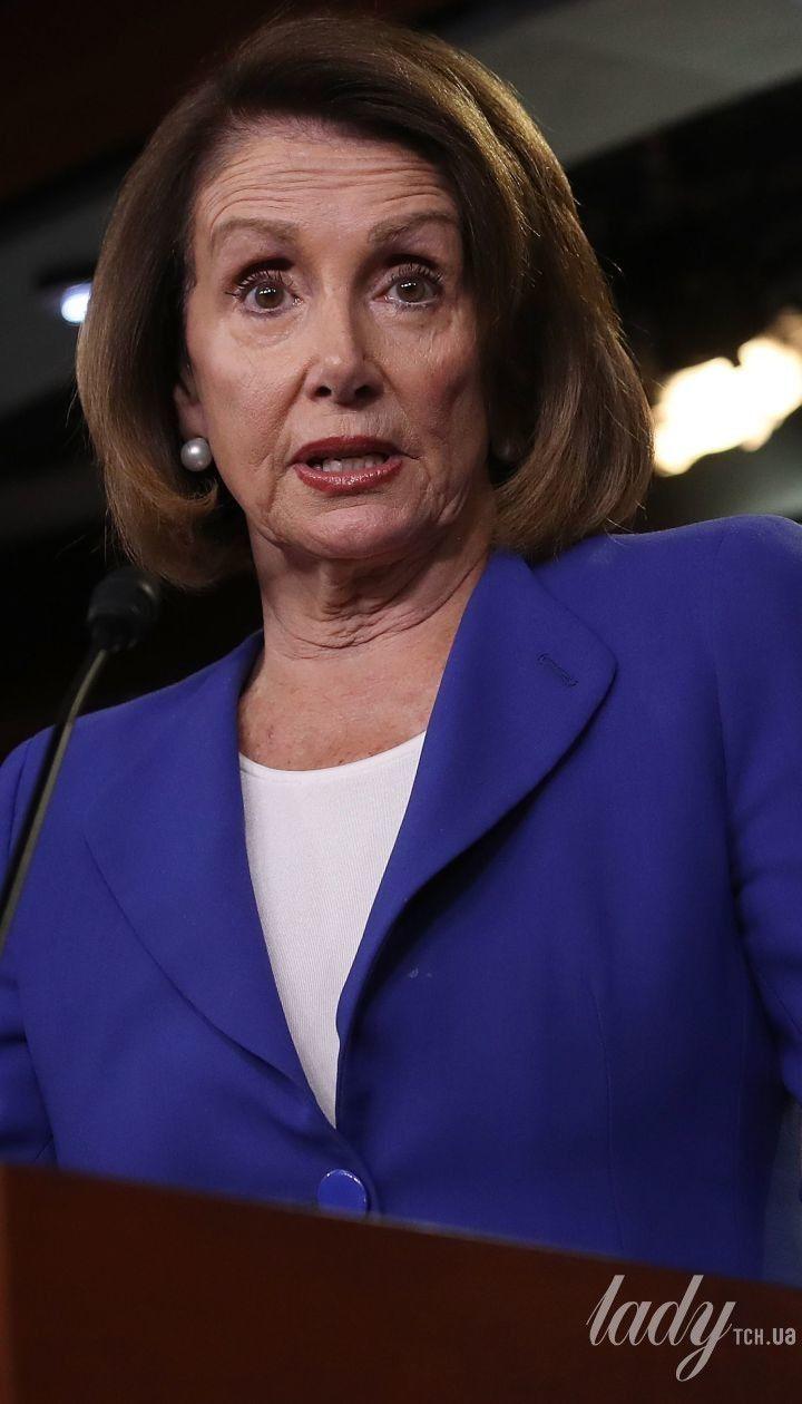 Спикер Палаты представителей США Нэнси Пелоси.