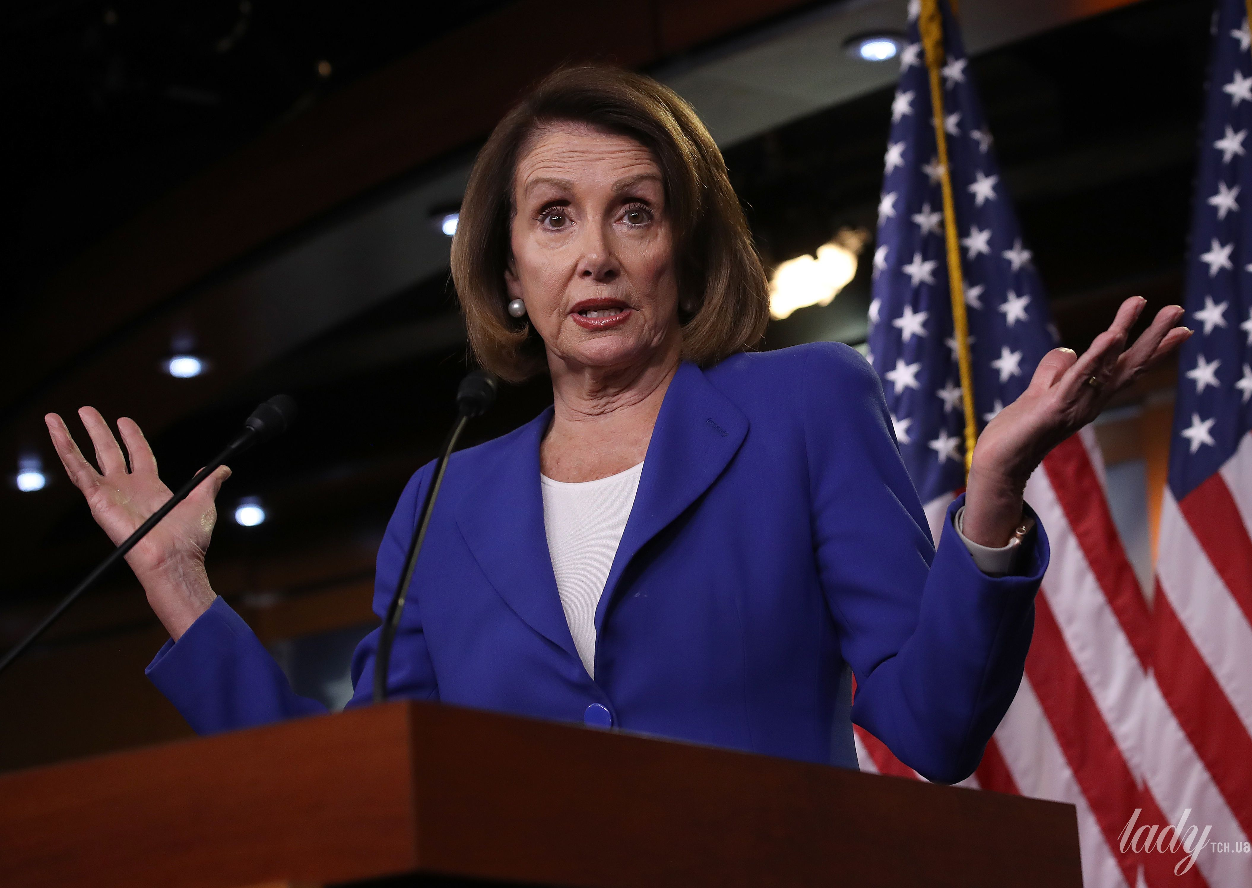 Спикер Палаты представителей США Нэнси Пелоси._1