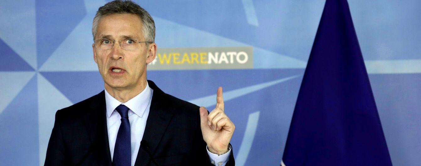 Столтенберг запросив Зеленського відвідати штаб-квартиру НАТО