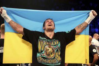 Усик официально остался претендентом на пояс WBO в супертяжелом весе