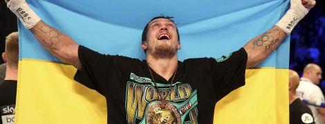 Усик офіційно залишився претендентом на пояс WBO в надважкій вазі