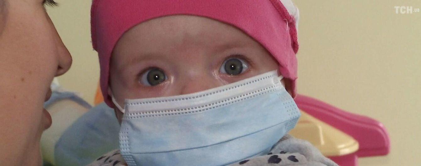 В помощи нуждается 5-месячный ребенок Ангелина