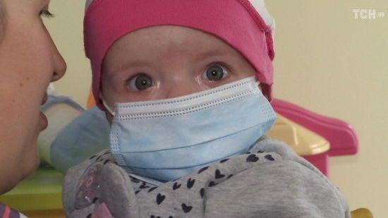 Допомоги потребує 5-місячна дитинка Ангеліна
