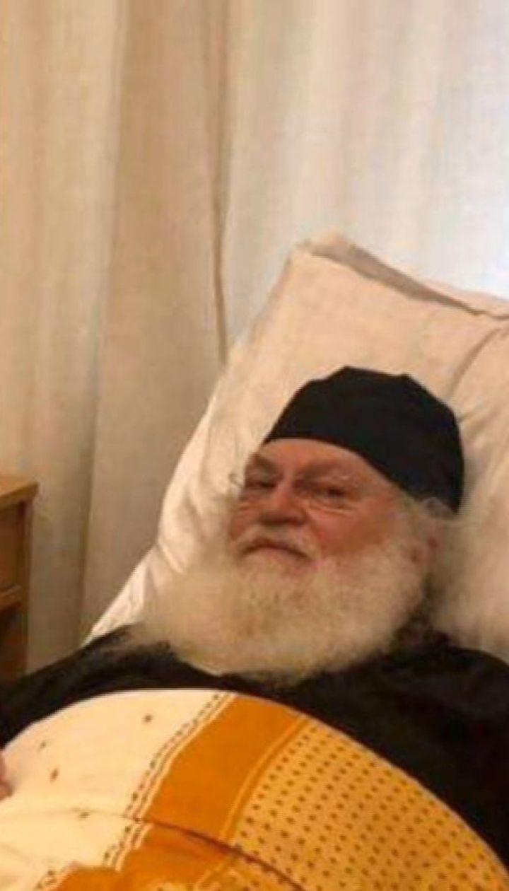 Митрополит Епіфаній відвідав отця Єфрема, який потрапив до лікарні через проблеми з серцем