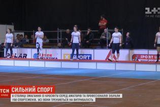 В Киеве стартовал чемпионат по кроссфиту