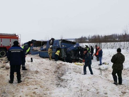 У РФ перекинувся автобус з дітьми: є жертви
