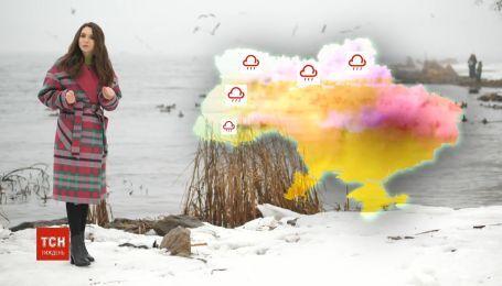 Замість весняних дощів наприкінці тижня до України знов повернеться зима