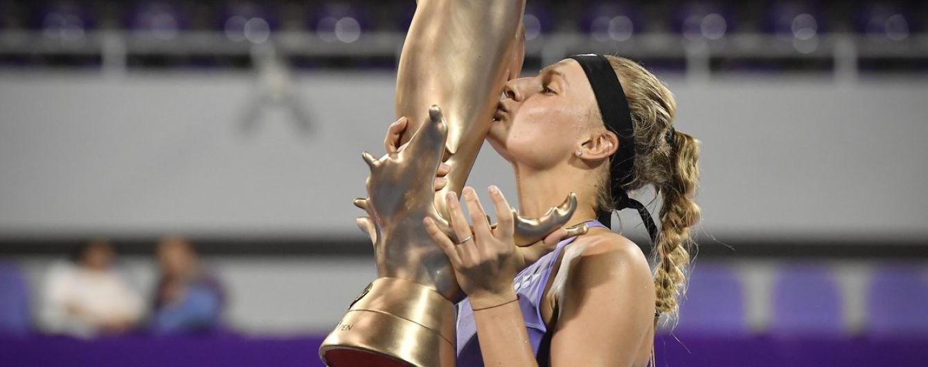 Ястремская побила рекорд Свитолиной после завоевания трофея в Таиланде