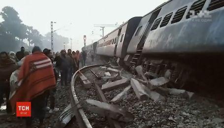 Авария пассажирского поезда произошла в Индии, есть погибшие