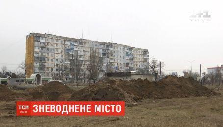 Бердянск вновь остался без воды