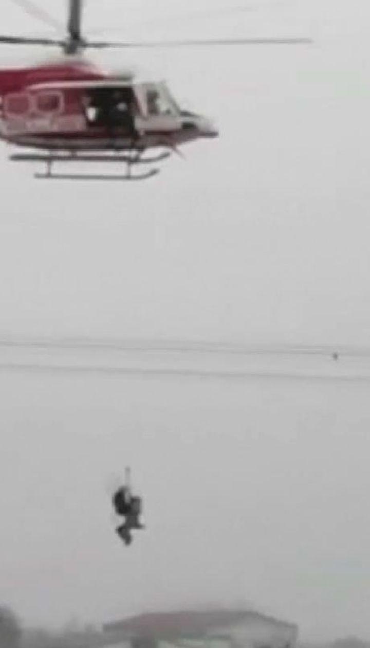 Наводнения на севере Италии: спасатели вытащили из воды семь человек