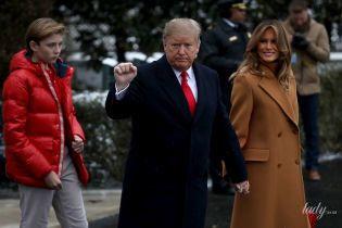 Как всегда, великолепна: Мелания Трамп продемонстрировала стильный образ