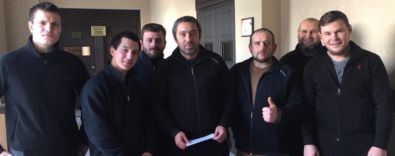 Задержанных в Грузии украинцев отпустили под залог