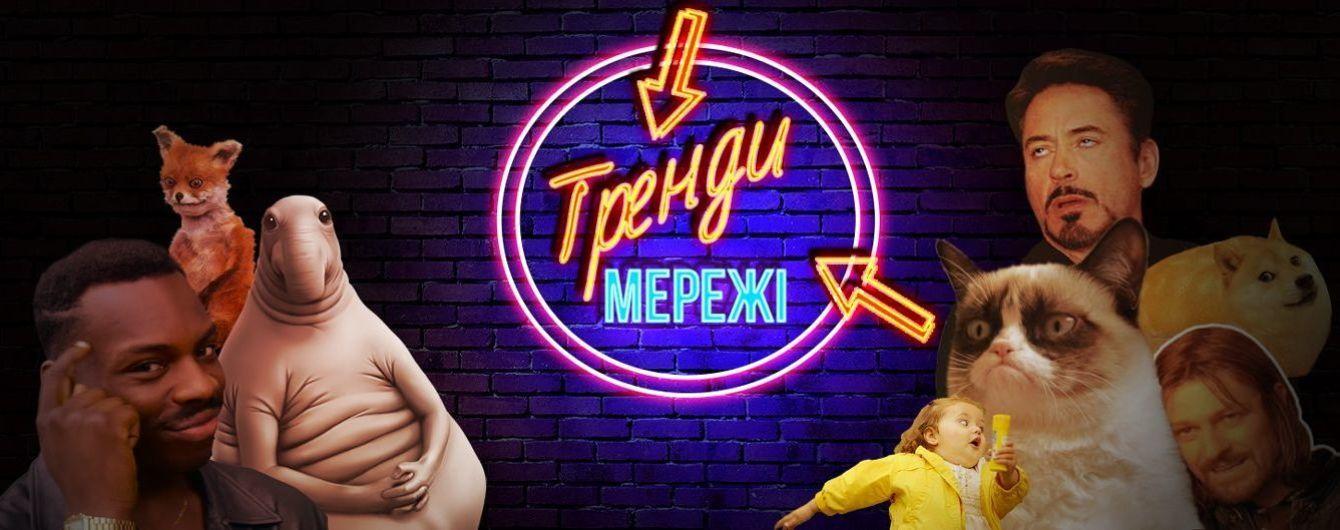"""Яскравий плакат на підтримку Супрун в центрі Києва та хтивий дельфін, який """"накинувся"""" на дівчину. Тренди Мережі"""