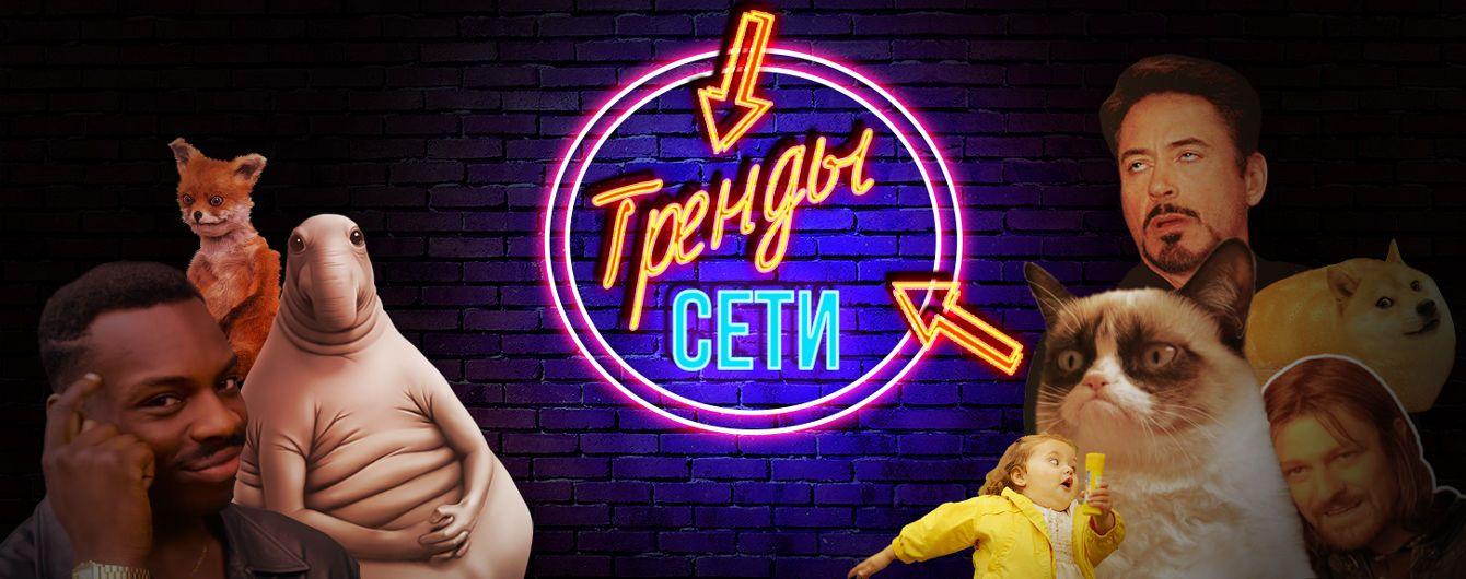"""Яркий плакат в поддержку Супрун в центре Киева и похотливый дельфин, который """"набросился"""" на девушку. Тренды Сети"""