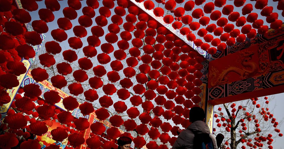 Праздник весны: китайцы встретили Новый год по лунному календарю
