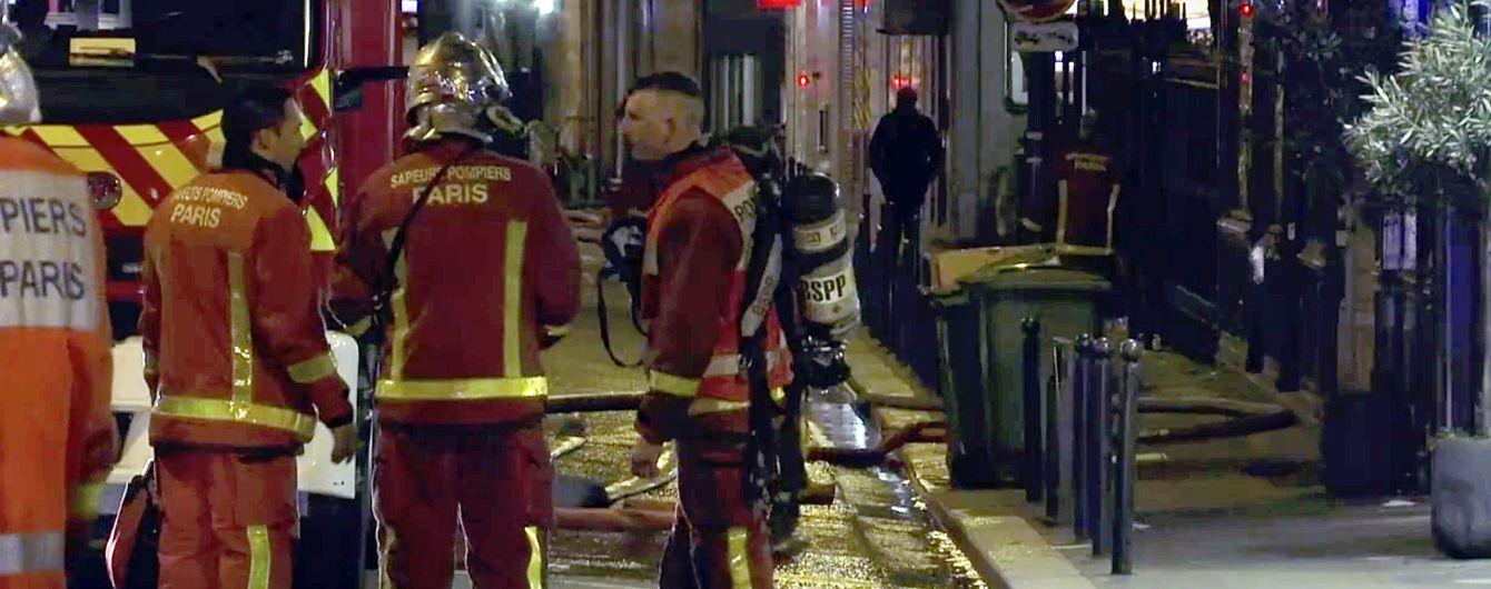 В Париже в результате пожара в жилом доме погибли семь человек, десятки раненых