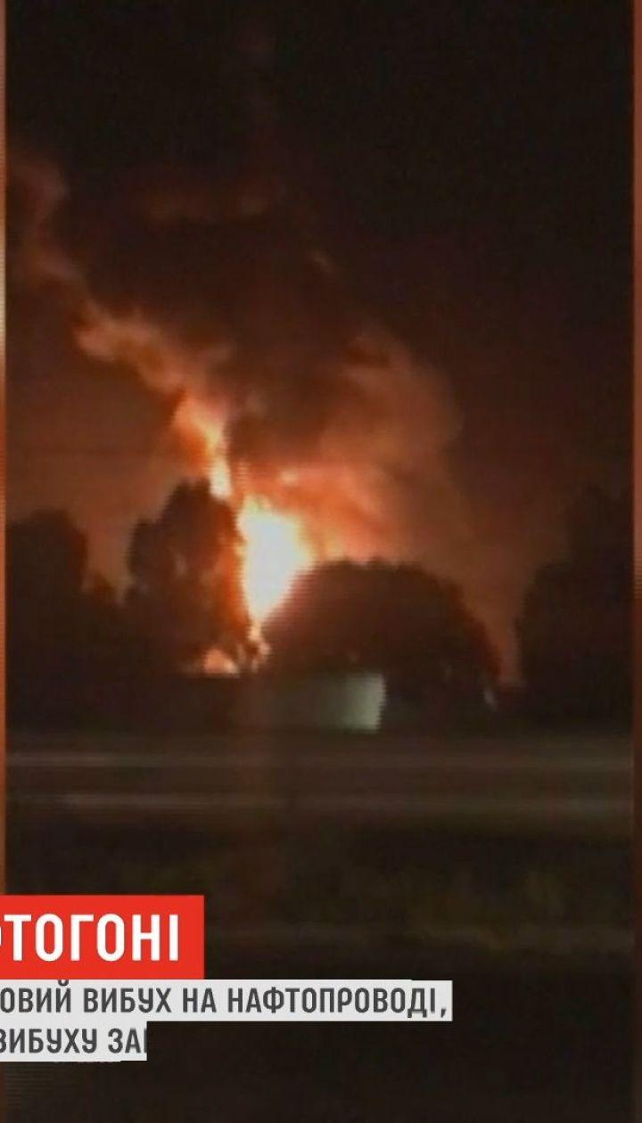 В Мексике произошел очередной взрыв из-за незаконной выкачки нефти