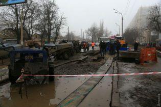 Половина Одеси залишилась без води через масштабну аварію
