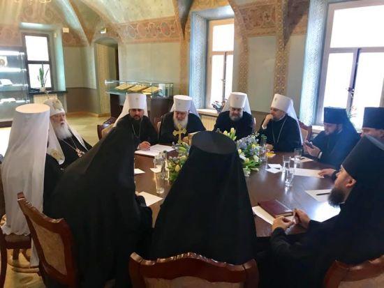 Патріарх Філарет продовжить керувати Київською єпархією – рішення Синоду ПЦУ