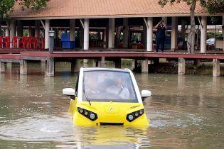 В Таиланде начали продажи электрокаров-амфибий за $21 тысячу