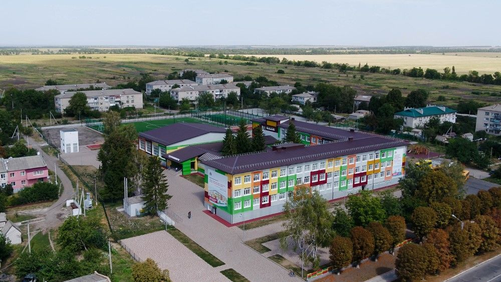 Солонянская школа, Днепропетровская область, после реконструкции