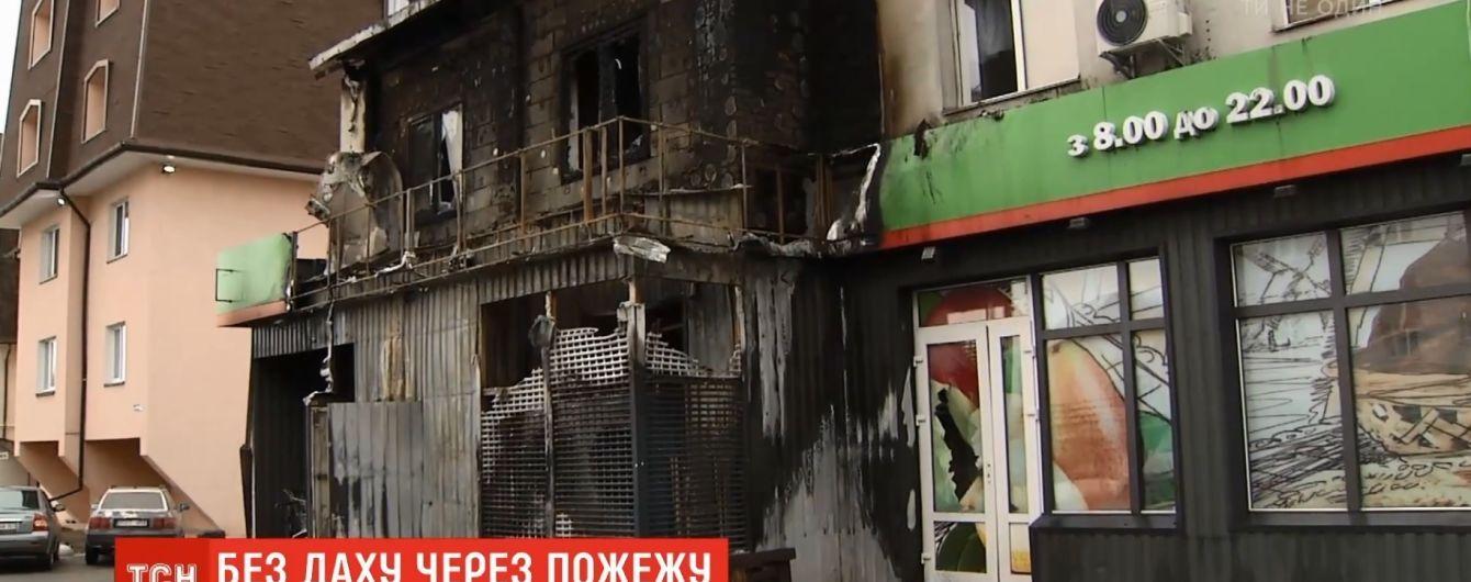 Пожар в супермаркете под Киевом: квартиры над торговым центром сначала планировались, как офисы